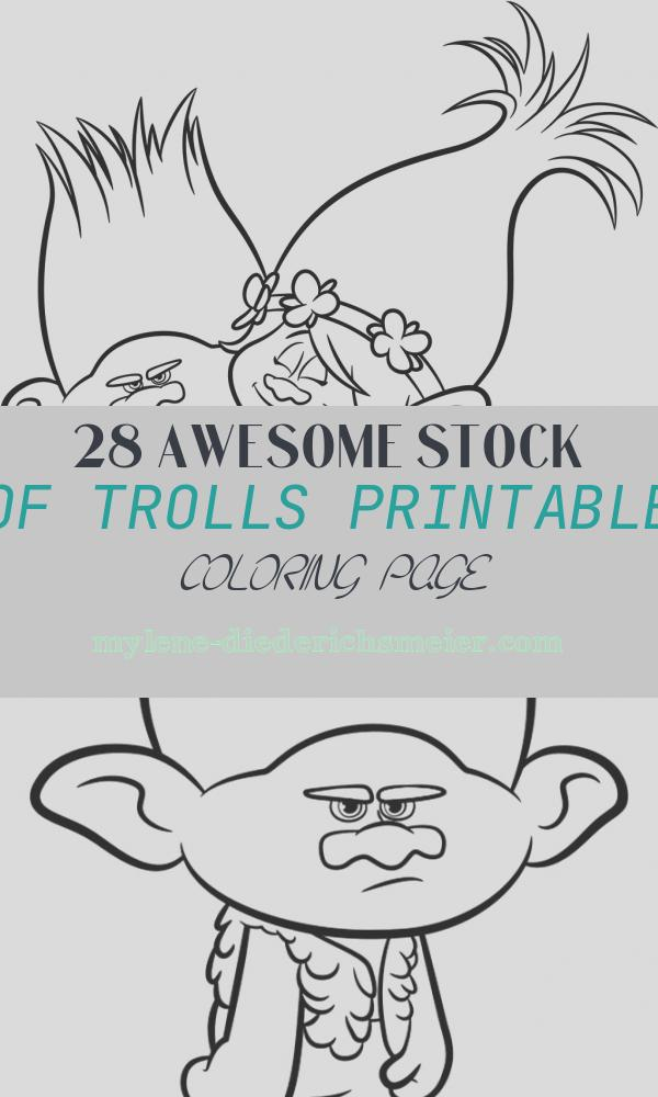 Trolls Printable Coloring Page New Trolls Movie Coloring Pages Best Coloring Pages for Kids