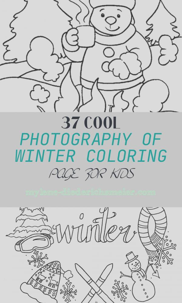 Winter Coloring Page for Kids Elegant Free Printable Winter Coloring Pages for Kids