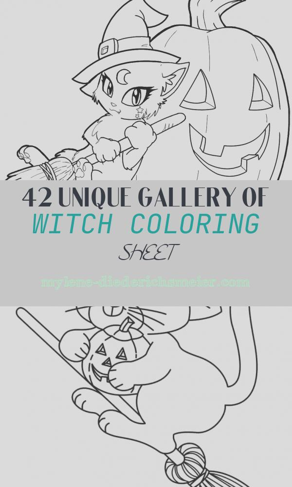 Witch Coloring Sheet Inspirational Free Printable Witch Coloring Pages for Kids