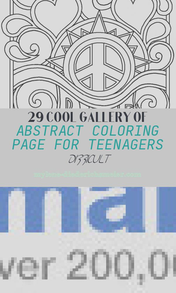 Abstract Coloring Page for Teenagers Difficult Beautiful Abstract Coloring Pages for Teenagers Difficult Coloring
