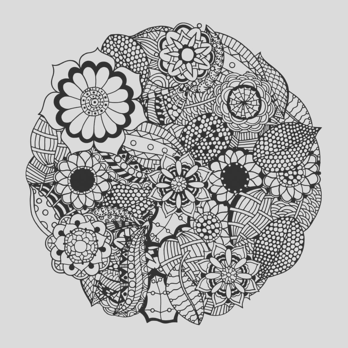 Adult Coloring Page Flower Mandala New these Printable Abstract Coloring Pages Relieve Stress and