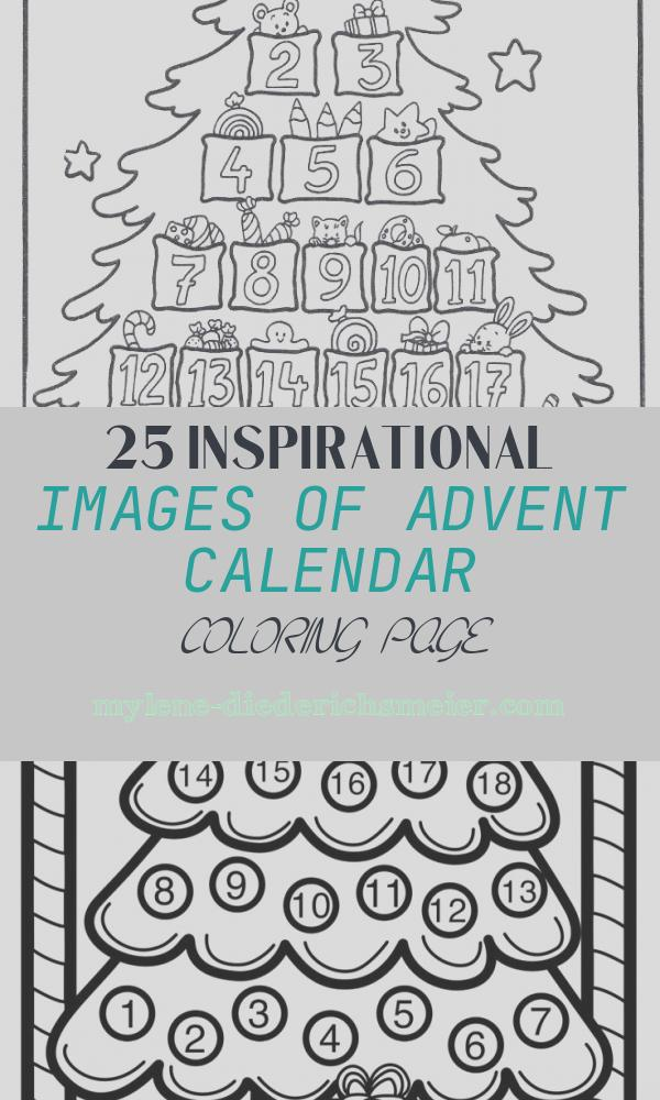 Advent Calendar Coloring Page Awesome Free Printables and Coloring Pages for Advent Zephyr Hill