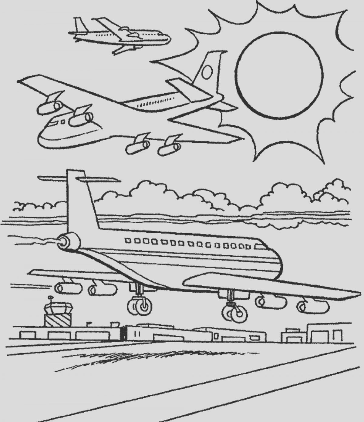 Airplane Coloring Page for Adults Best Of Airplane Coloring Pages for Adults