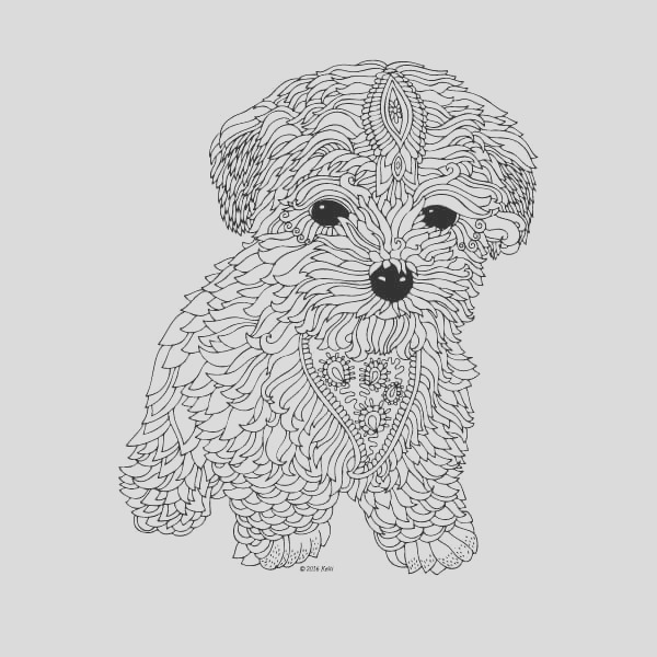 coloring pages for adults difficult animals 33
