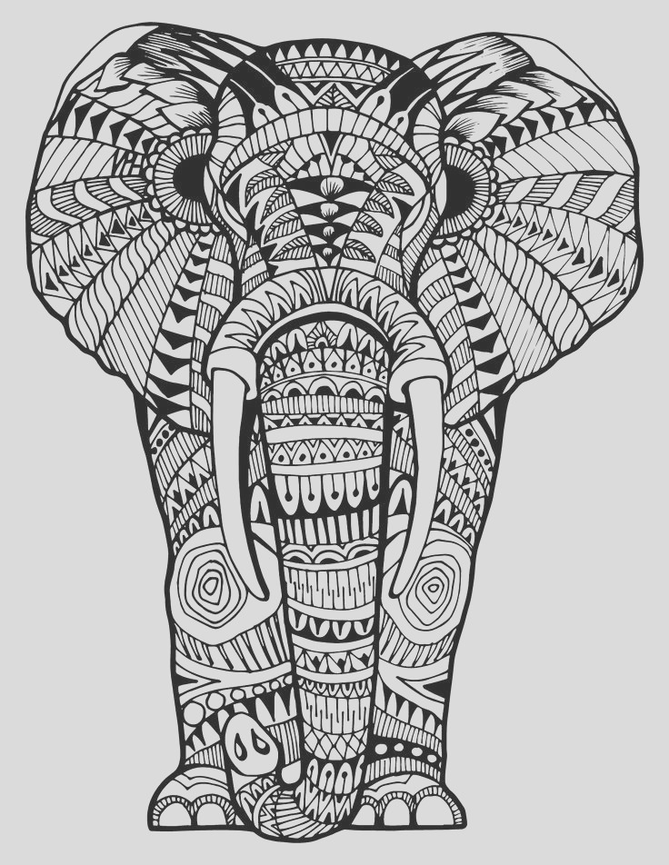 Hard Coloring Pages Animals part 2