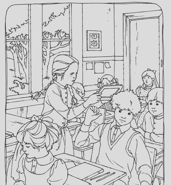 free kids coloring page anna of green