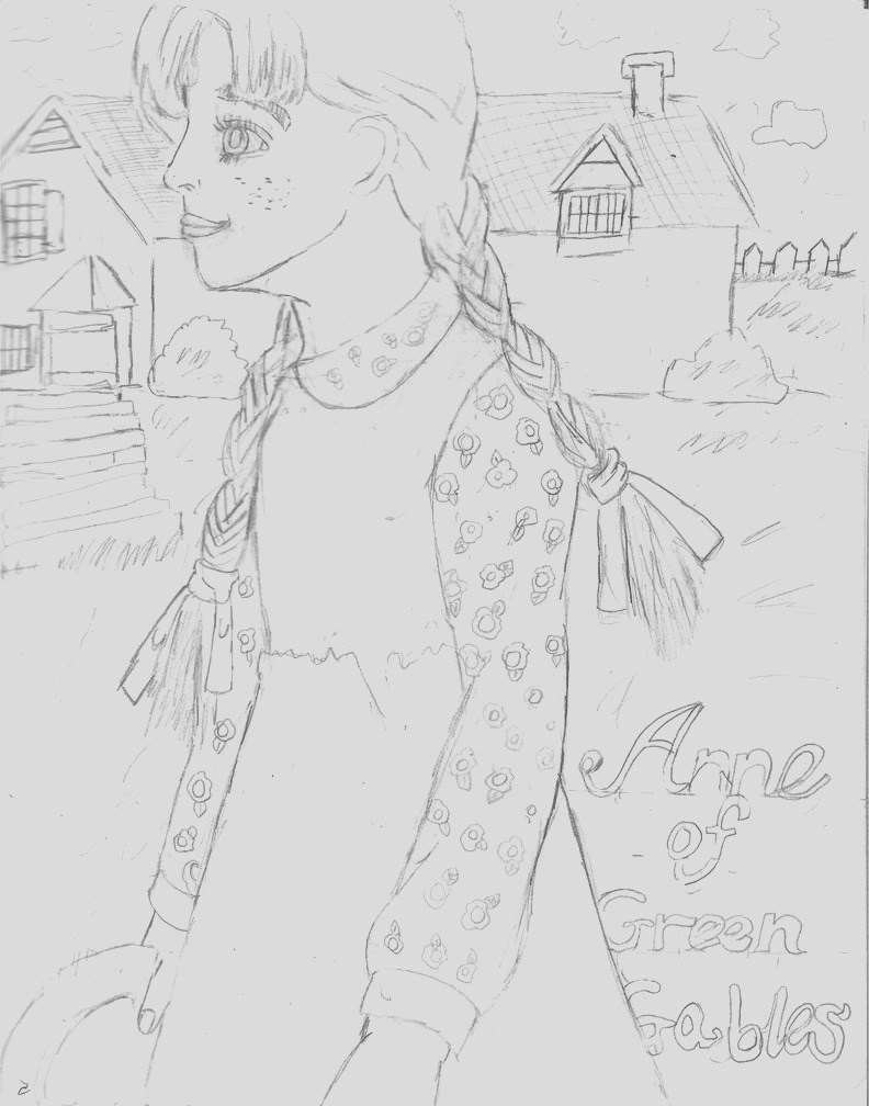 anne of green gables coloring pages
