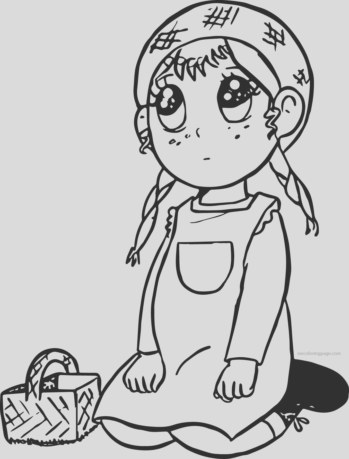 anne chan green gables cartoon coloring page
