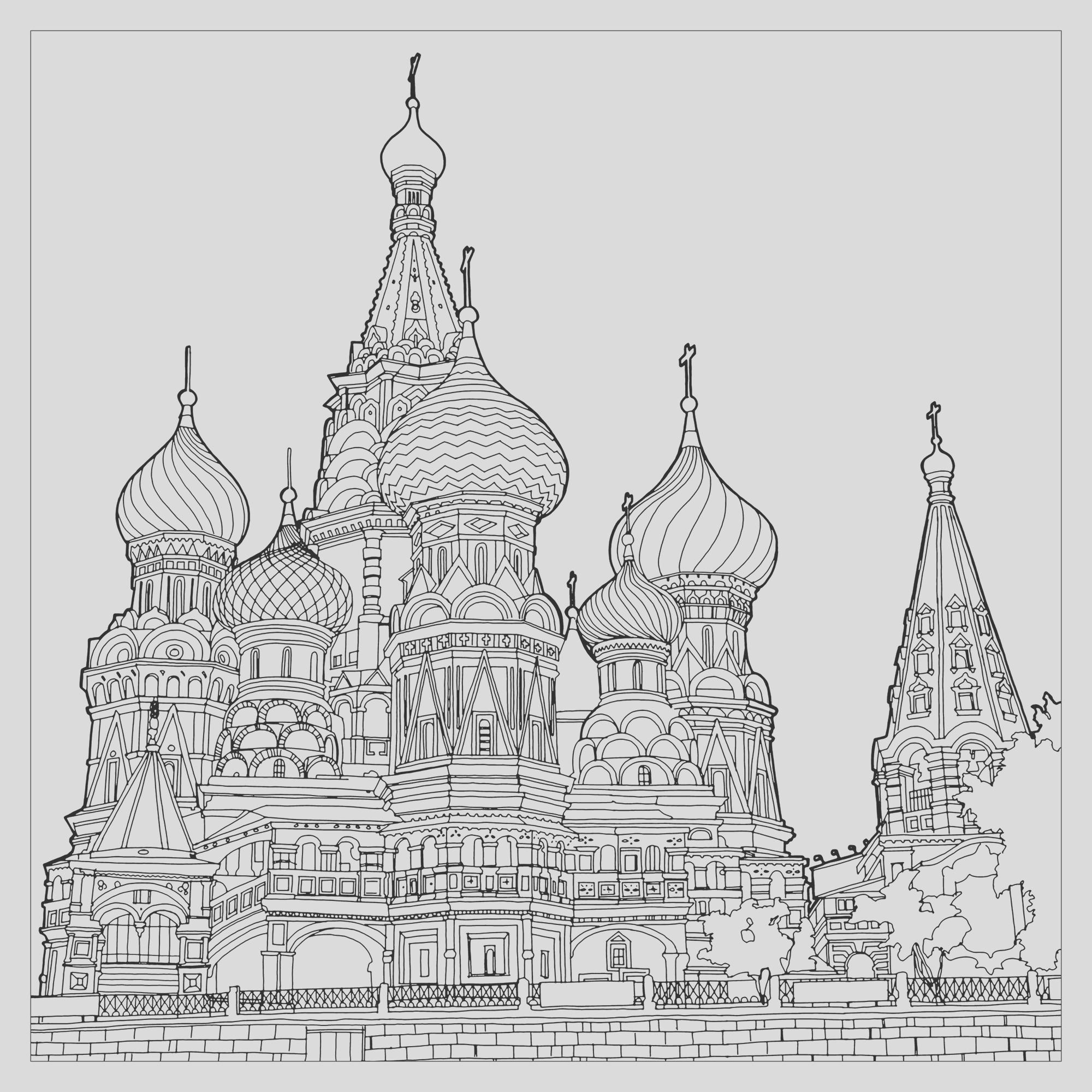 image=architecture home coloring page fantastic structures stbasilsrussia 1