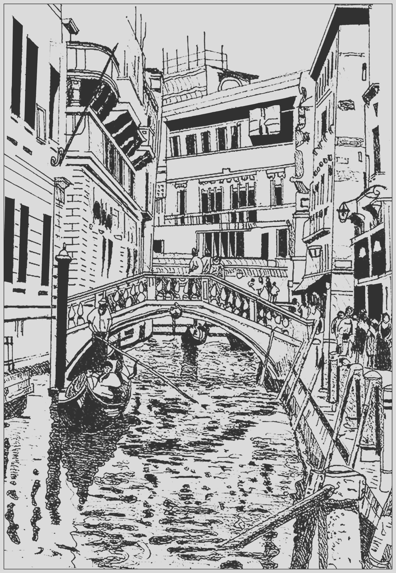 image=architecture home coloring page venice drawing 1