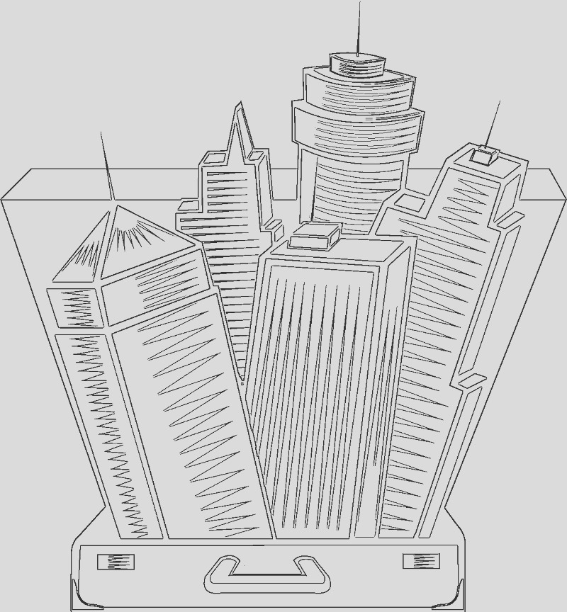 architecture coloring pages