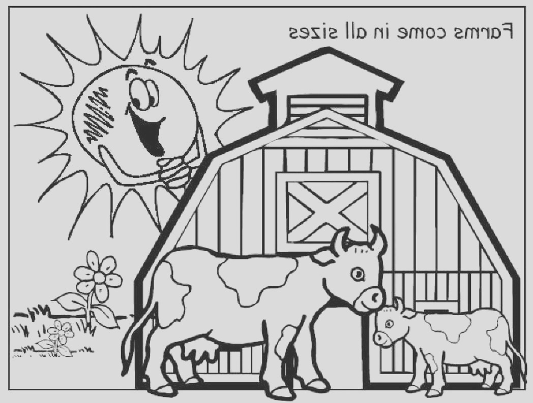 farm animal coloring pages enchantedlearning