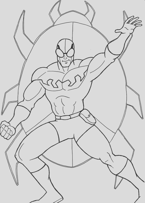 blue beetle coloring pages sketch templates