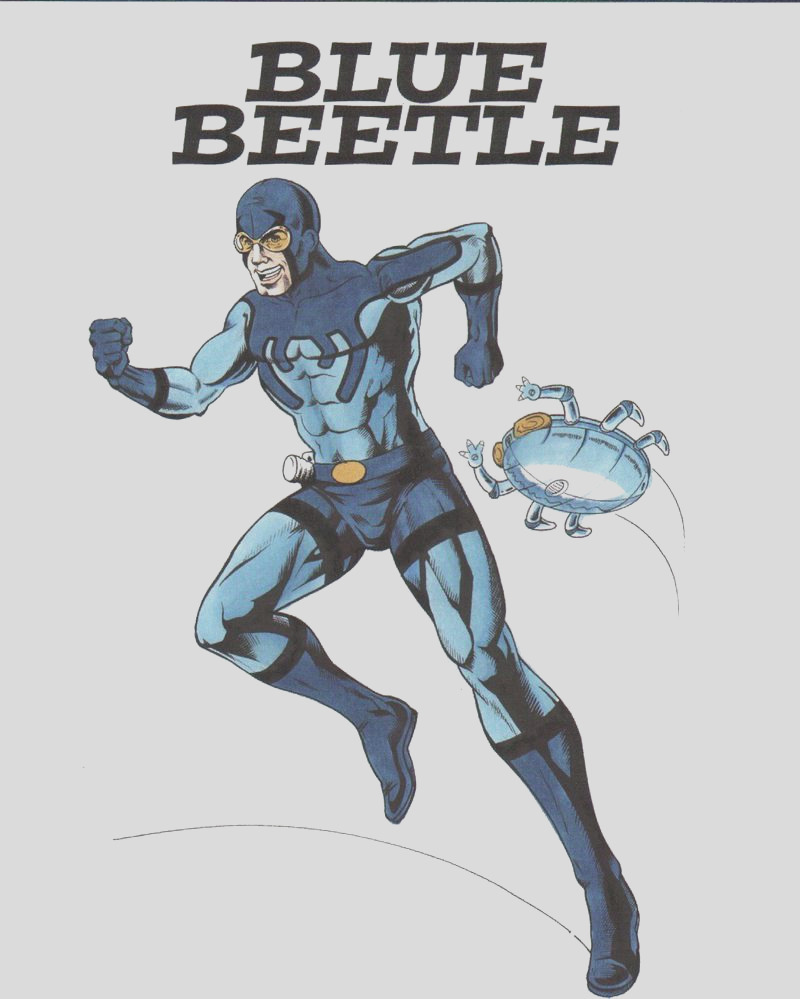 Blue Beetle Ted Kord Color