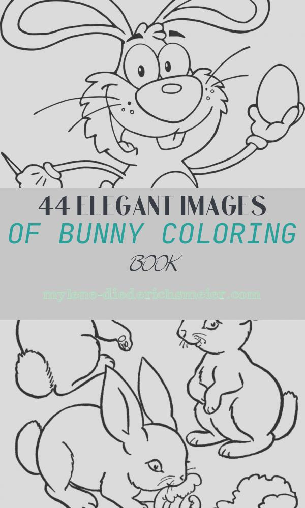 Bunny Coloring Book Unique Bunny Coloring Pages Best Coloring Pages for Kids