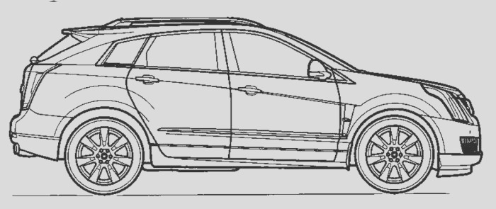 cadillac pages sketch templates