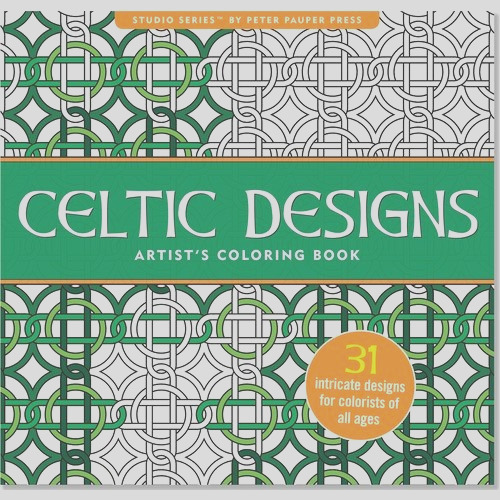 celtic adult coloring books