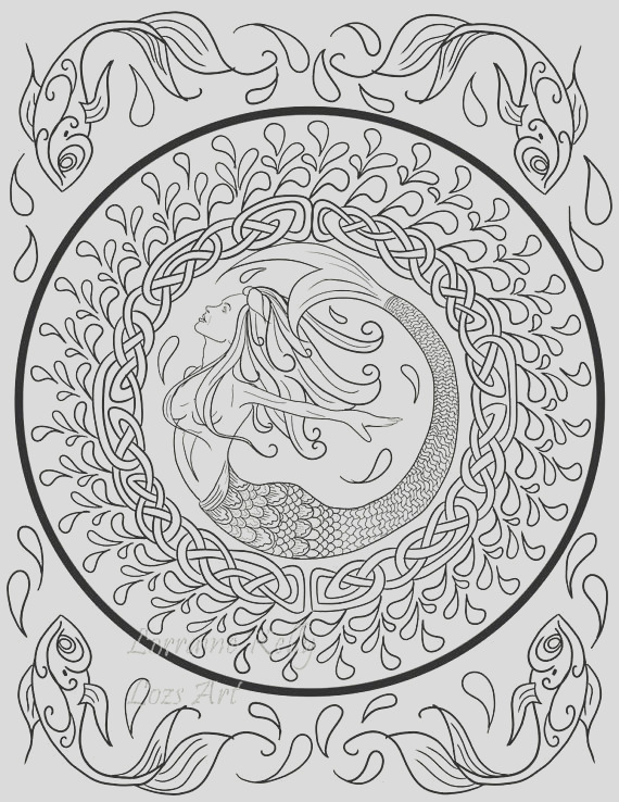 10 x celtic knot adult coloring pages