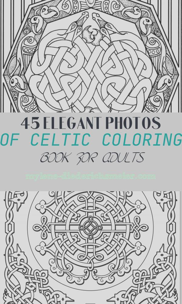 Celtic Coloring Book for Adults Inspirational 94 Best Celtic Coloring Pages for Adults Images On