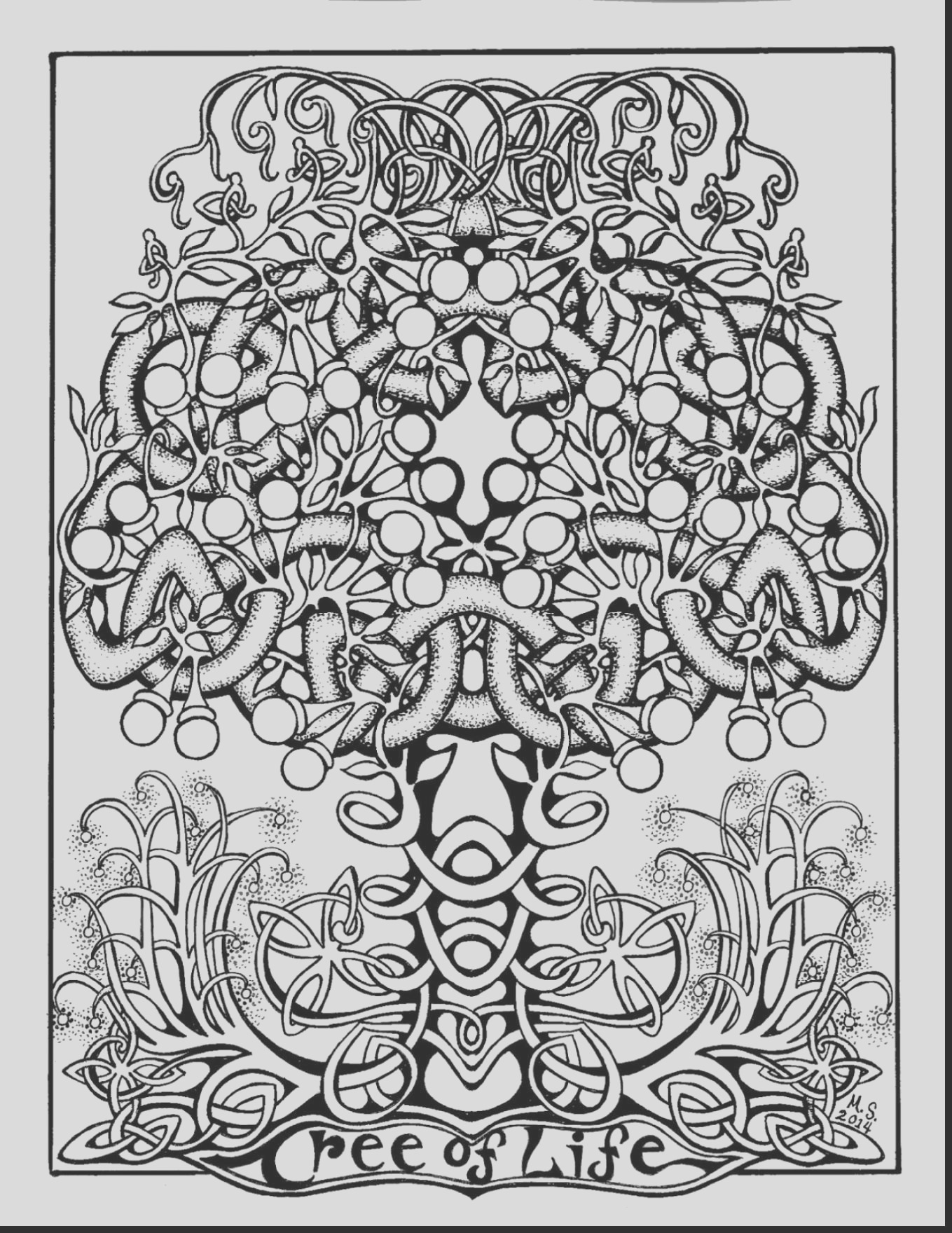 irish coloring pages for adults