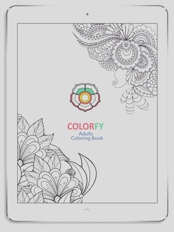 colorfy app coloring for adults sketch templates