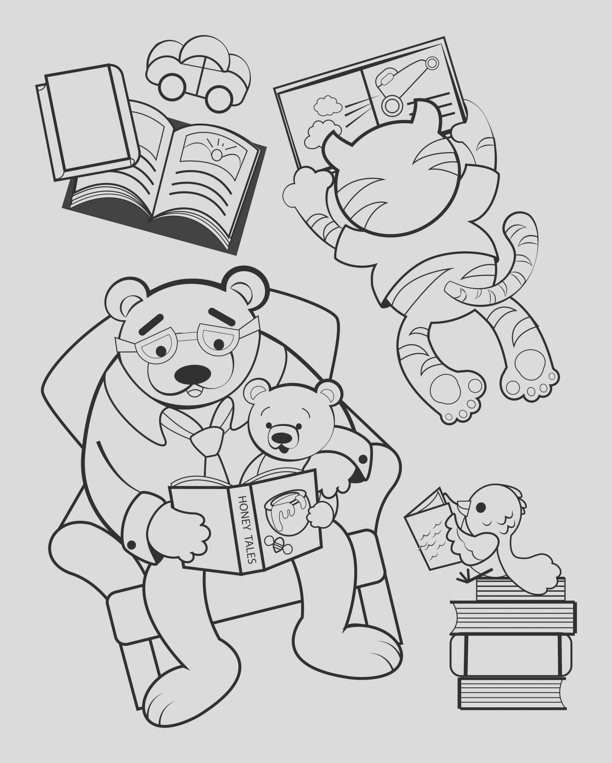 2017 ohioana book festival coloring pages