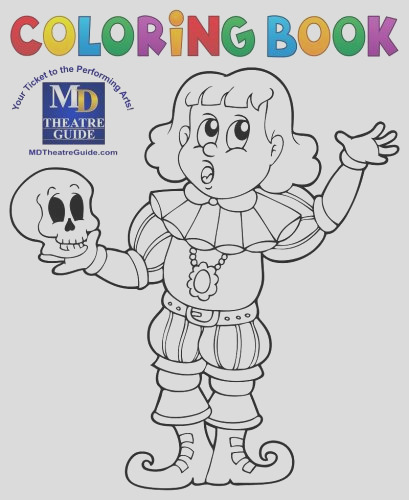coloring book hamlet to be or not to be md theatre guide