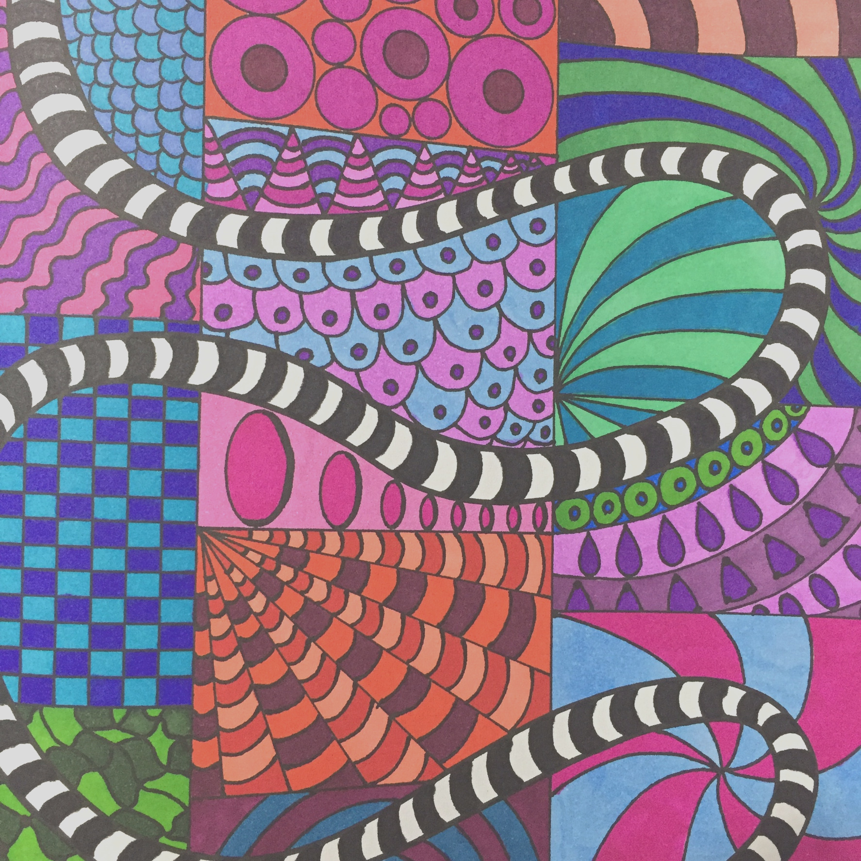 adult coloring book coloring tips