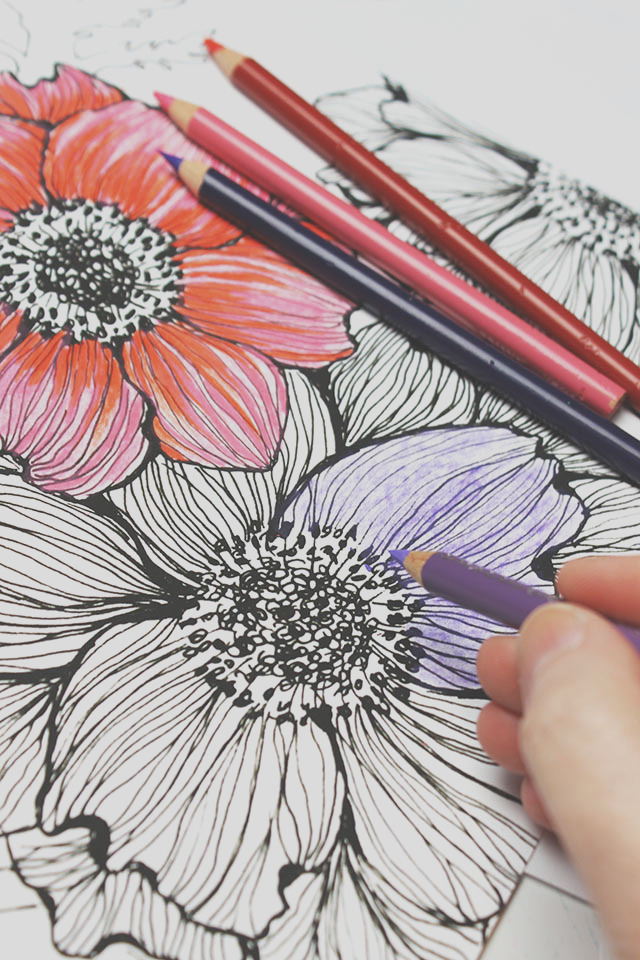 colored pencils few tips and tricks