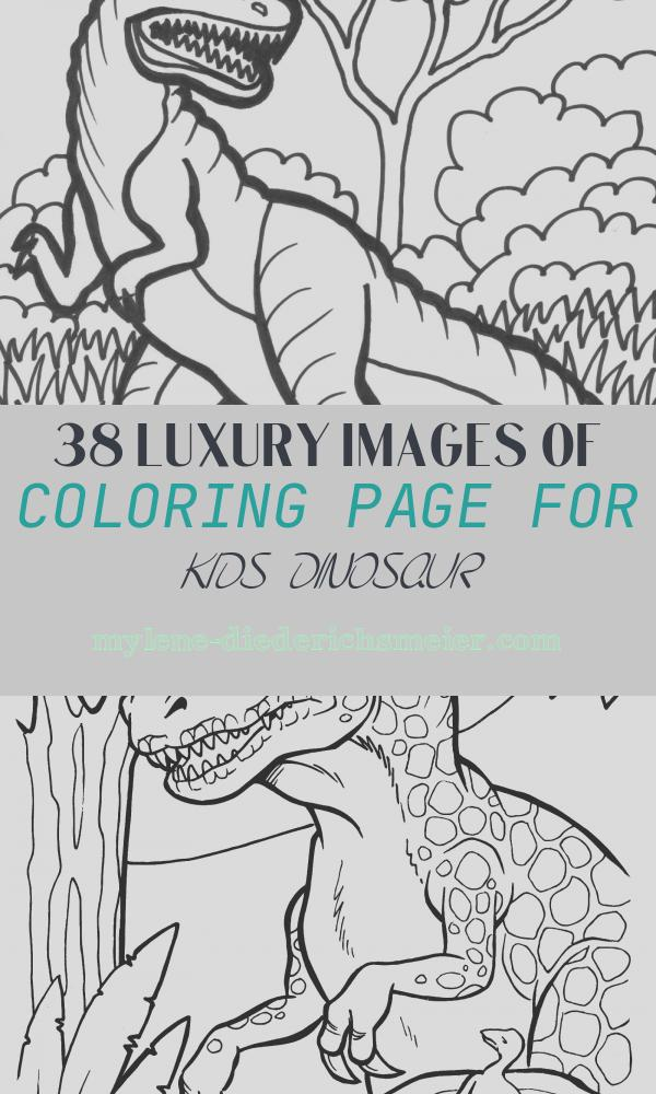 Coloring Page for Kids Dinosaur Beautiful Free Printable Dinosaur Coloring Pages for Kids