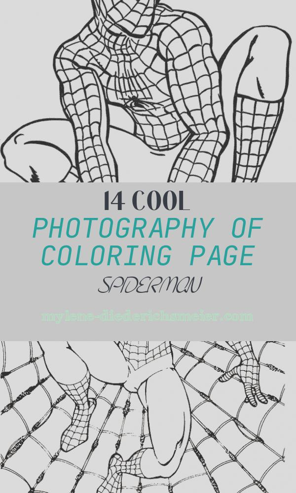 Coloring Page Spiderman Awesome Spiderman Coloring Pages