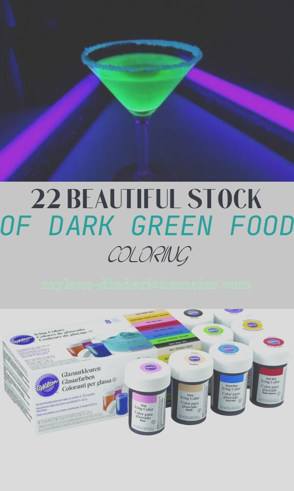 Dark Green Food Coloring Inspirational How to Make Dark Green with Food Coloring – Coloring Line