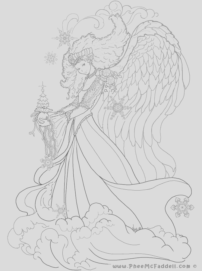 free fairy fantasy coloring pages by
