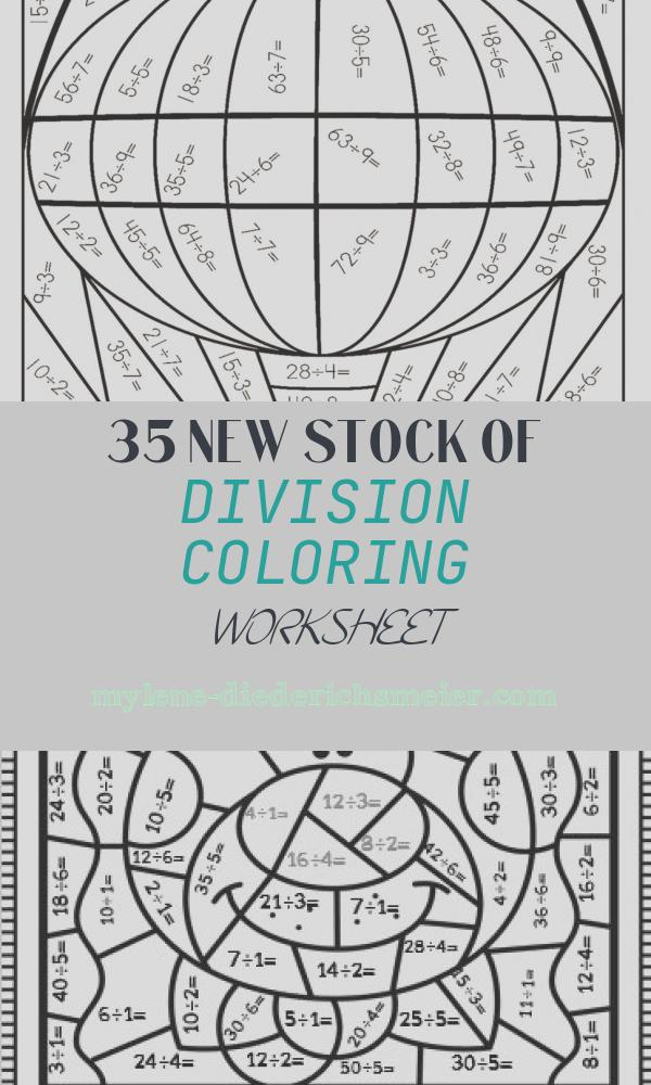 Division Coloring Worksheet Luxury Division Coloring Worksheets Coloring Pages