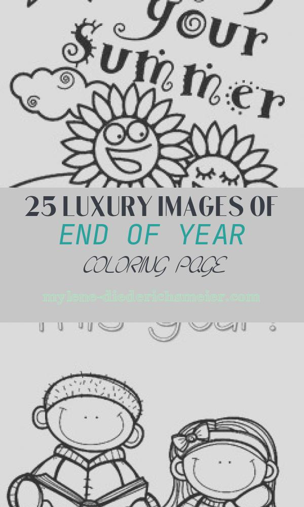 End Of Year Coloring Page Luxury Summer is Here Coloring Page