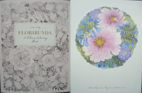 floribunda a flower colouring book a review