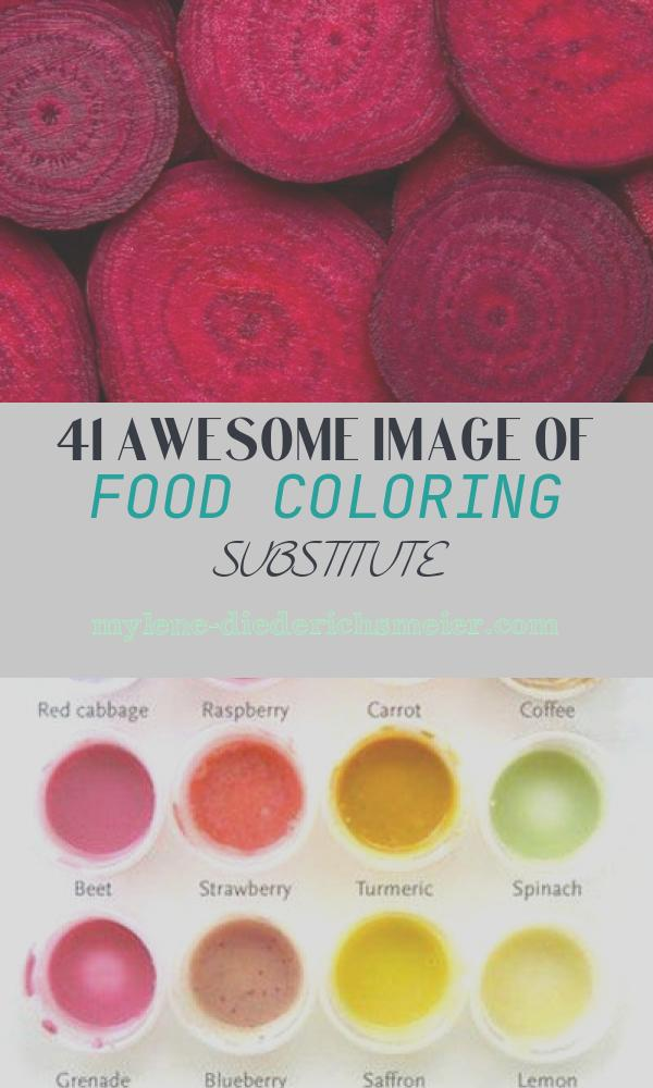 Food Coloring Substitute Beautiful Food Coloring Substitutes