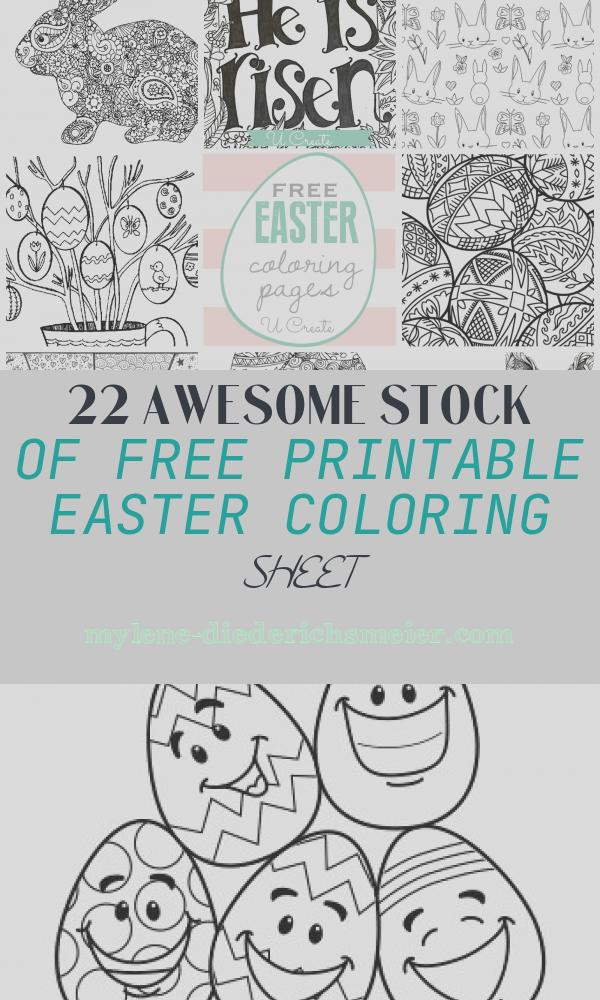 Free Printable Easter Coloring Sheet Awesome Free Easter Coloring Pages U Create