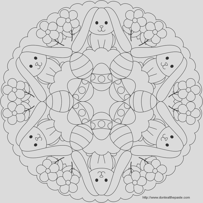 advanced free printable easter coloring pages for older kids