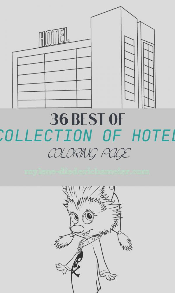 Hotel Coloring Page Elegant Hotel Coloring Picture – Coloring Page