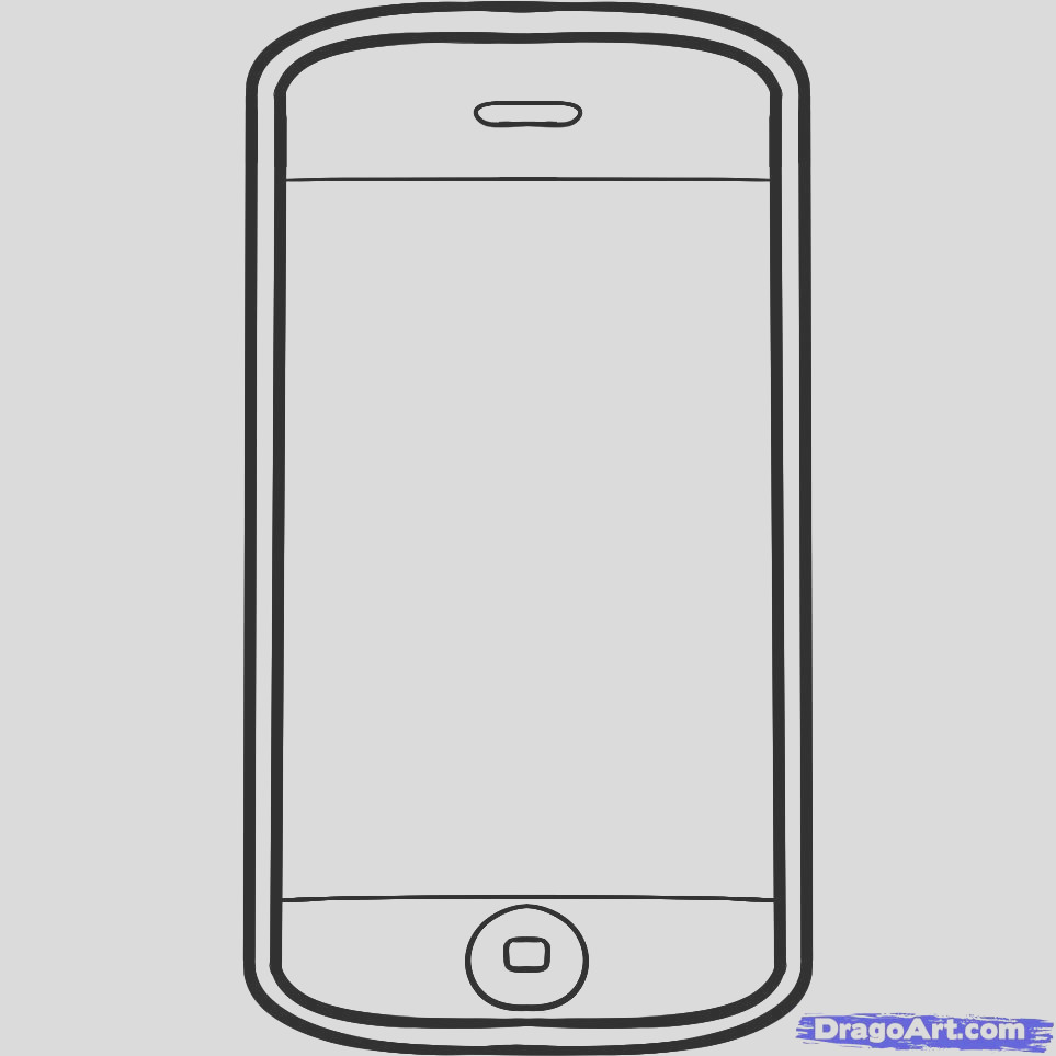iphone 7 coloring pages