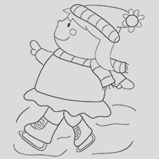 january coloring pages your toddler will love to color