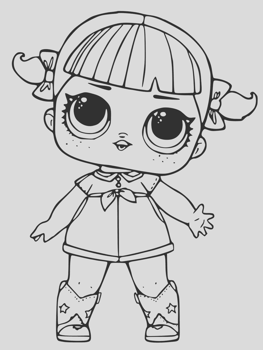 surprise dolls coloring pages