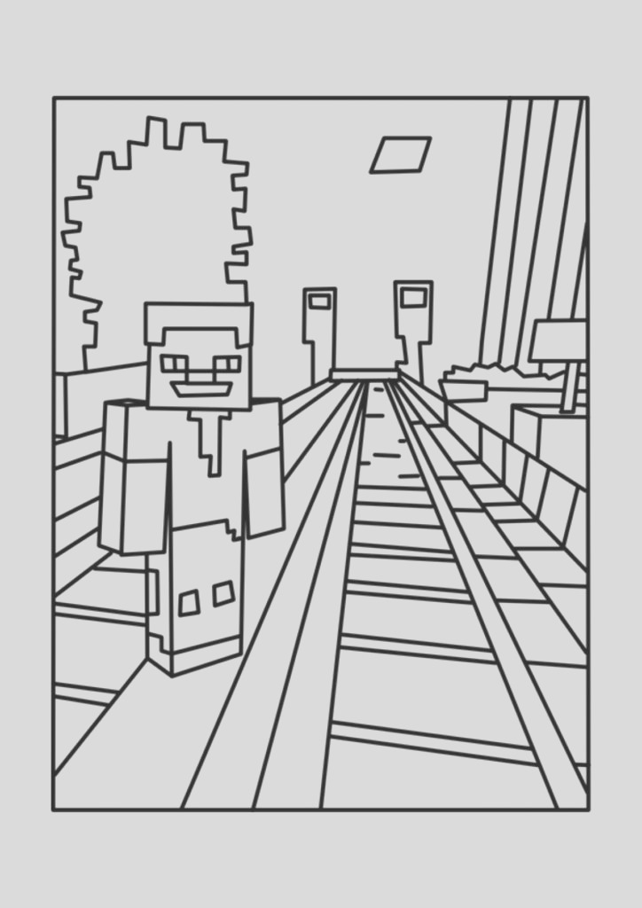printable minecraft coloring pages az coloring pages minecraft coloring pages printable 3