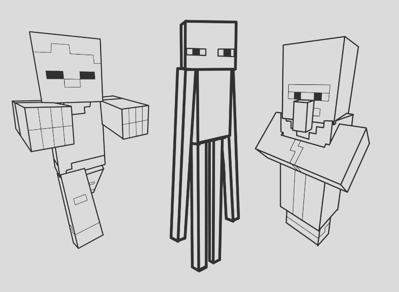 image=minecraft Coloring for kids minecraft 1