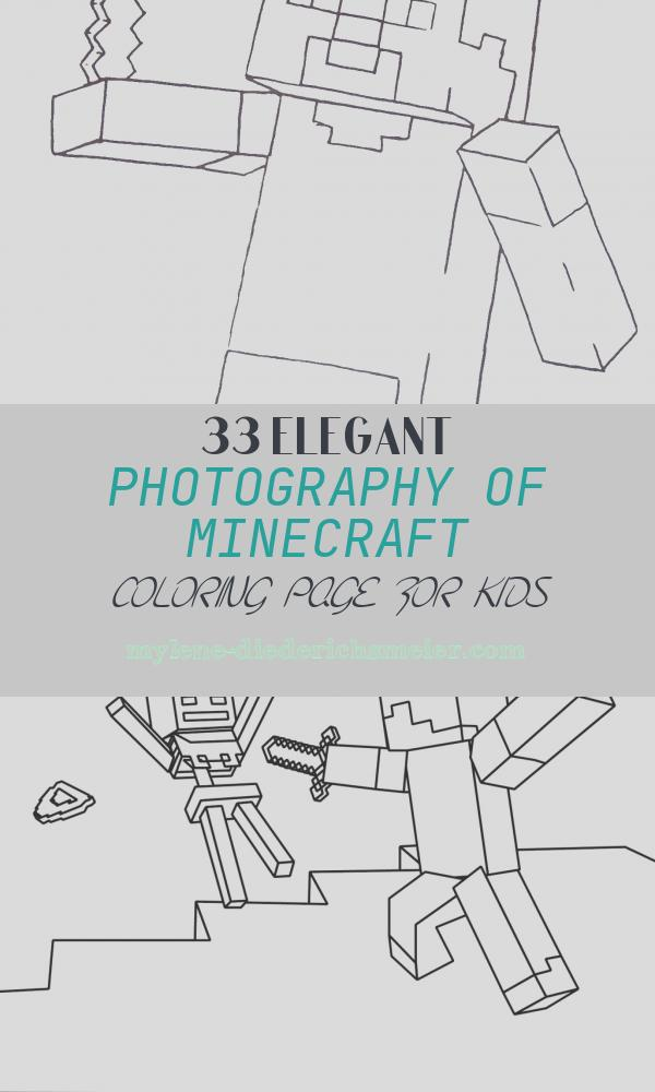 Minecraft Coloring Page for Kids Inspirational Minecraft Coloring Pages for Kids Coloring Home
