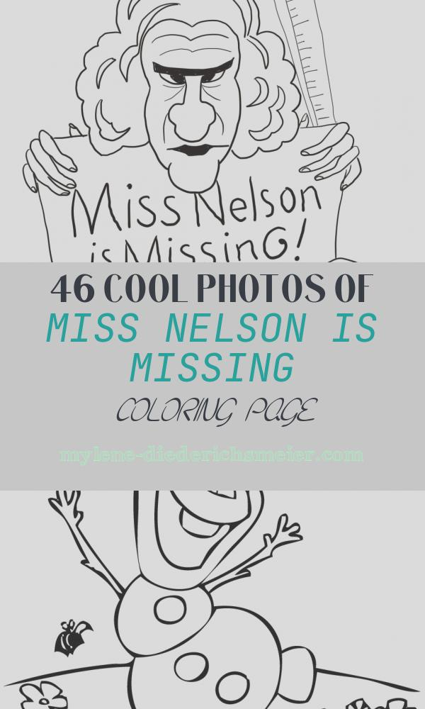 Miss Nelson is Missing Coloring Page Fresh Miss Nelson is Missing Coloring Page