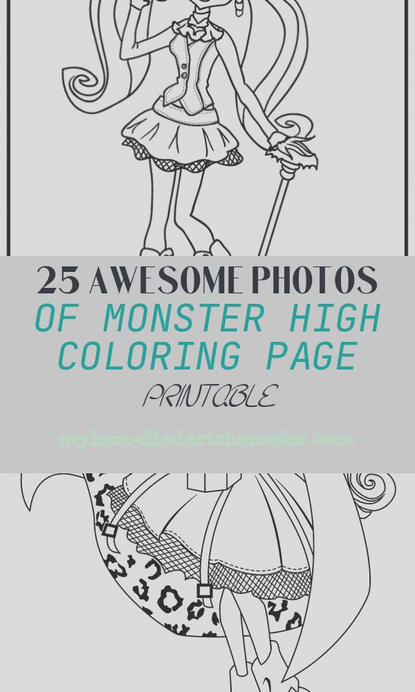 Monster High Coloring Page Printable Beautiful Coloring Pages Monster High Page 2 Printable Coloring