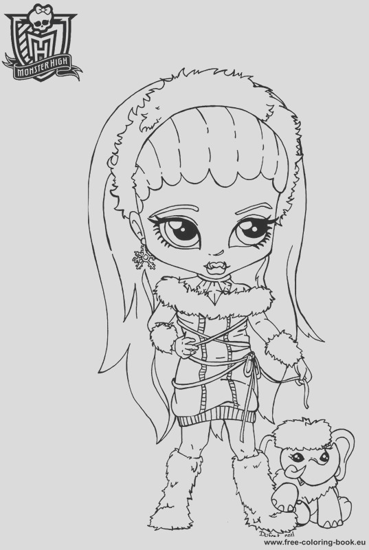 coloring pages monster high 1
