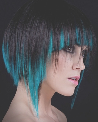 funky multitonal hair color effects 5088